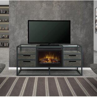 Affordable Ivan TV Stand for TVs up to 55 with Fireplace by Dimplex Reviews (2019) & Buyer's Guide