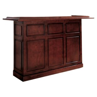 American Heritage Lexington Bar with Wine Storage
