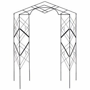 ACHLA Athena Iron Folding Trellis