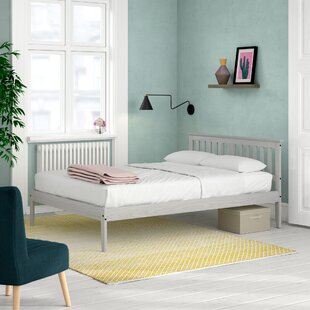 Wooden Bed Frame By Brambly Cottage