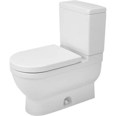 Tremendous Starck 3 128 Gpf Water Efficient Elongated Two Piece Toilet Beatyapartments Chair Design Images Beatyapartmentscom