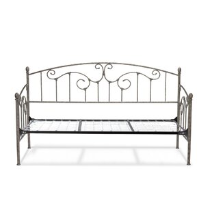 �� August Grove Marcy Metal Daybed with Vertical Spindles