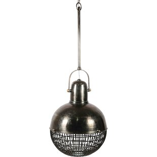 17 Stories Effie 3-Light Globe Pendant