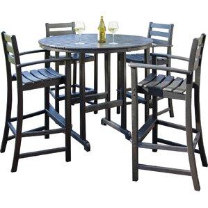 trex outdoor monterey bay 5 piece bar set - Outdoor Set
