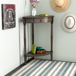 Compare Rawls Corner End Table ByCharlton Home