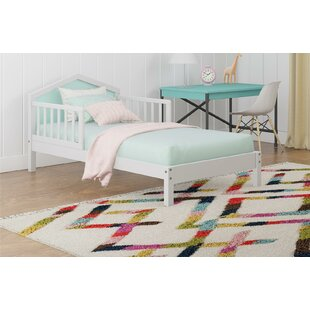 Albie Toddler Platform Bed with Reversible Headboard by Novogratz