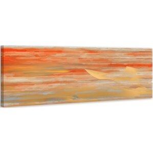 'Tichia' by Parvez Taj Painting Print on Wrapped Canvas