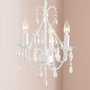 Willa Arlo Interiors Evon 3-Light LED Candle Style Chandelier