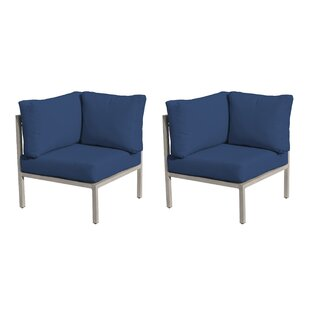Carlisle Patio Chair With Cushions (Set Of 2) by TK Classics Great price