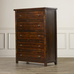 Winchester 5 Drawer Chest by World Menagerie