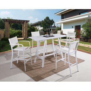 Zac Patio Bar Stool (Set of 4)