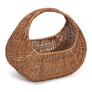 Wicker Gondola Basket By Brambly Cottage