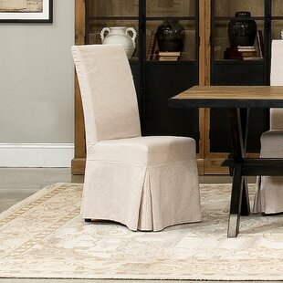 Draped Upholstered Dining Chair (Set of 2..