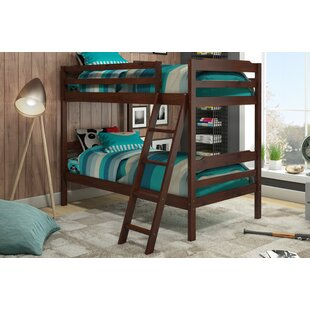Brian Twin Over Twin Bunk Bed by Viv + Rae Spacial Price
