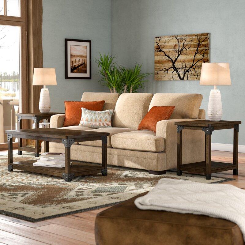 Trent Austin Design Boalt 3 Piece Coffee Table Set Reviews Wayfair