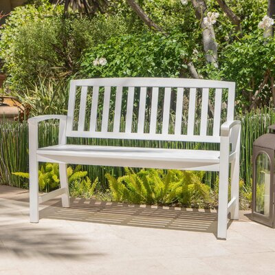 White Outdoor Benches You Ll Love In 2020 Wayfair