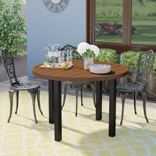 Sulgrave Metal Dining Table by Winston Porter