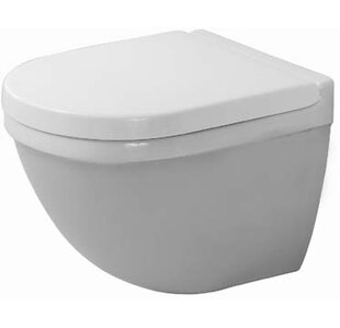 Duravit Starck 3 Dual-Flush Elongated Wal..