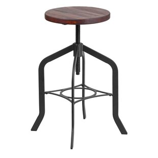 Keena Adjustable Height Swivel Bar Stool
