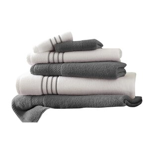 Barney 6 Piece 100% Cotton Towel Set