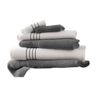 Barney 6 Piece 100% Cotton Towel Set