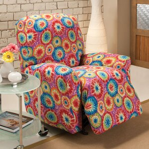 Box Cushion Recliner Slipcover by Andover Mi..