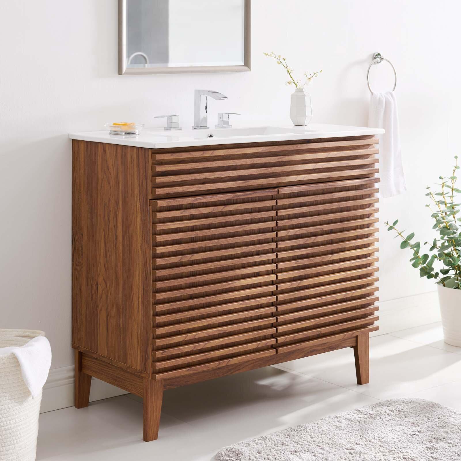 George Oliver Wigington 36 Single Bathroom Vanity Set Wayfair