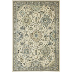 Lakemont Beige/Blue Area Rug