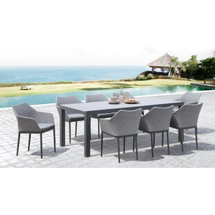 Islais 9 Piece Extendable Dining Set by Wrought Studio