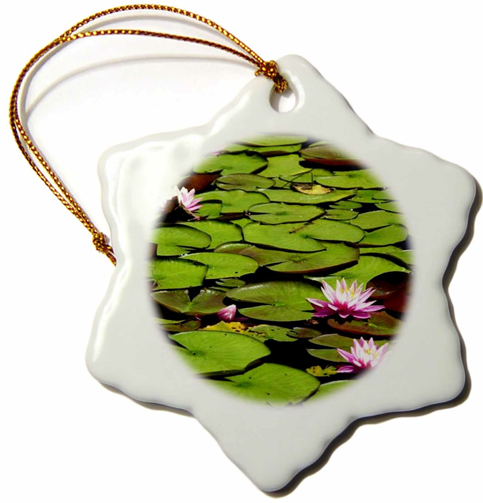 The Holiday Aisle Lily Pads Holiday Shaped Ornament Wayfair