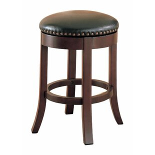 Kraemer Wooden 24 Bar Stool (Set of 2)