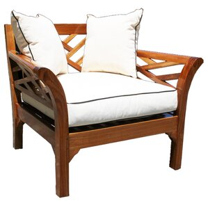 Teak Chair teak patio lounge chairs - teak patio furniture | wayfair