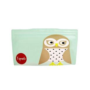 Owl Snack Bag (Set of 2)