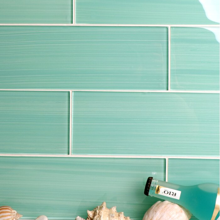 Hand Painted Series 4 X 12 Gl Subway Tile