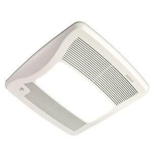 Reviews 110 CFM Energy Star Bathroom Fan with Light By Broan
