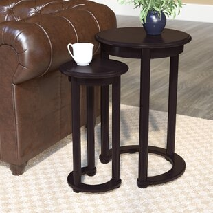 Read Reviews Pauly 2 Piece Nesting Tables By Charlton Home
