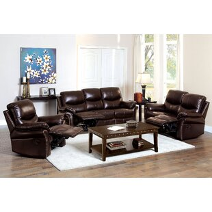 Darby Home Co Piccadilly Reclining Configurable Living Room Set