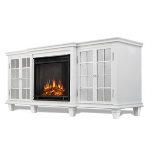 Marlowe 70 TV Stand with Electric Fireplace by Real Flame