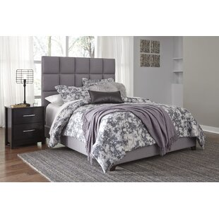 Teter Queen Upholstered Panel Bed by Wrought Studio