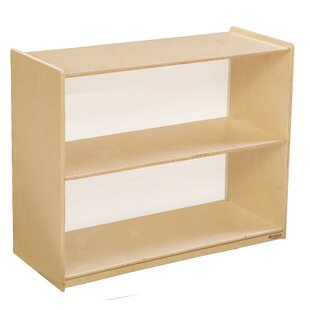 Good stores for Brys Acrylic Back Standard Bookcase Red Barrel Studio
