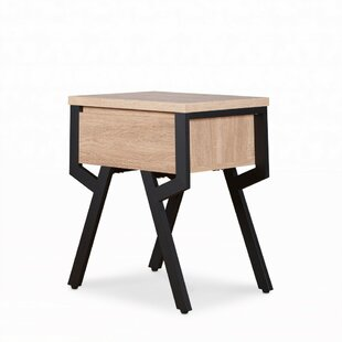 Vern End Table by Brayden Studio