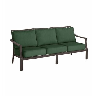 Topsail Deep Seating Patio Sofa with Cushions by Plow & Hearth