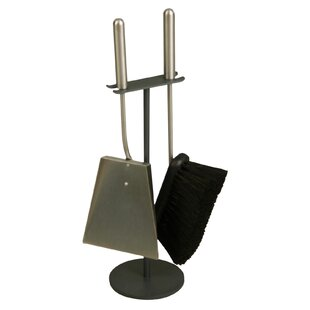 Stainless Steel Fireplace Tool Set By Symple Stuff