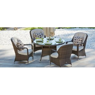 Red Barrel Studio Fazio Dining Set with Cushion