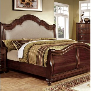 Fuson Upholstered Panel Bed
