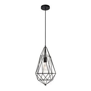Wrought Studio Reinoso Traditional 1-Light Geometric Pendant