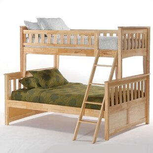 Ginger Twin over Full Bunk Bed by Night & Day Furniture