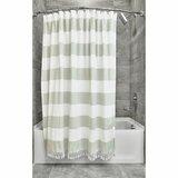 Modern Green Ivory Cream Shower Curtains Allmodern