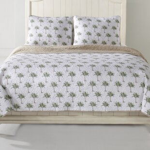 Palm Tree Quilt Set