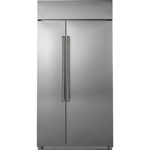 29.6 cu. ft. Energy Star Counter Depth Side-by-Side Refrigerator by Café™